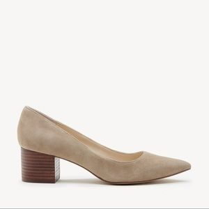 Nude sole society heels